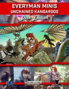 Everyman Minis: Unchained Kangaroos: Dire Edition