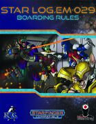 Star Log.EM-029: Boarding Rules