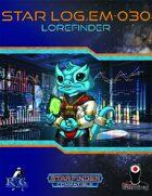 Star Log.EM-030: Lorefinder