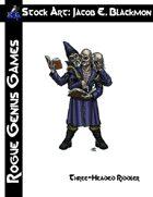 Stock Art: Blackmon Three-Headed Riddler