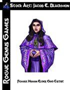 Stock Art: Blackmon Female Human Elder God Cultist