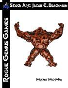 Stock Art: Blackmon Mutant Mud Man