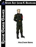Stock Art: Blackmon Male Fascist Officer