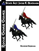Stock Art: Blackmon Headless Horseman