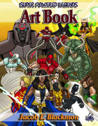 Super Powered Legends Art Book