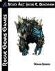 Stock Art: Blackmon Demon Baboon