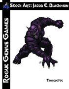 Stock Art: Blackmon Troglodyte