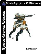 Stock Art: Blackmon Sentry Robot