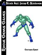 Stock Art: Blackmon Centurion Robot