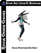 Stock Art: Blackmon Female Henchperson Bad Bunny