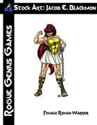 Stock Art: Blackmon Female Roman Warrior