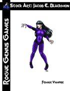 Stock Art: Blackmon Female Vampire