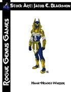 Stock Art: Blackmon Hawk-Headed Warrior