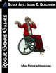 Stock Art: Blackmon Male Psychic in Wheelchair