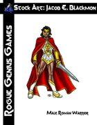 Stock Art: Blackmon Male Roman Warrior