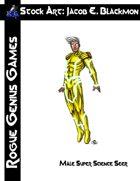 Stock Art: Blackmon Male Super Science Seer