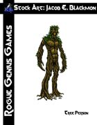Stock Art: Blackmon Tree Person