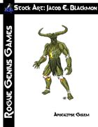 Stock Art: Blackmon Apocalypse Golem