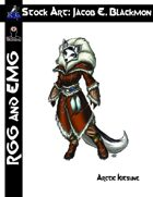 Stock Art: EMG Blackmon Arctic Kitsune