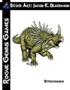 Stock Art: Blackmon Styracosaurus