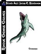 Stock Art: Blackmon Tylosaurus