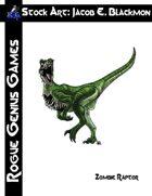 Stock Art: Blackmon Zombie Raptor