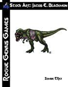 Stock Art: Blackmon Zombie T-Rex