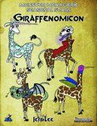 Monster Menagerie Seasonal Stars: Giraffenomicon