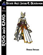 Stock Art: EMG Blackmon Desert Kitsune