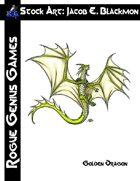 Stock Art: Blackmon Golden Dragon