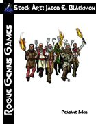 Stock Art: Blackmon Peasant Mob