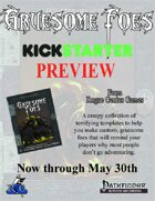 Monster Menagerie: Gruesome Foes Preview