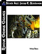 Stock Art: Blackmon Wolf King