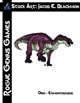 Stock Art: Blackmon Dino - Edmontosaurus