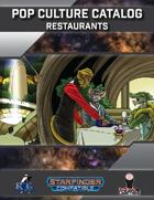 Pop Culture Catalog: Restaurants