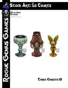 Stock Art: Courts Three Goblets 01