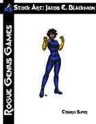 Stock Art: Blackmon Cyborg Super