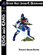 Stock Art: EMG Blackmon Kasatha Arcane Soldier