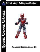 Stock Art: Curlee Powered Battle Armor 02