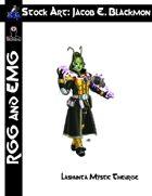 Stock Art: EMG Blackmon Lashunta Mystic Theurge