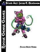 Stock Art: Blackmon Female Space Goblin