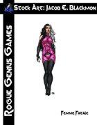 Stock Art: Blackmon Femme Fatale