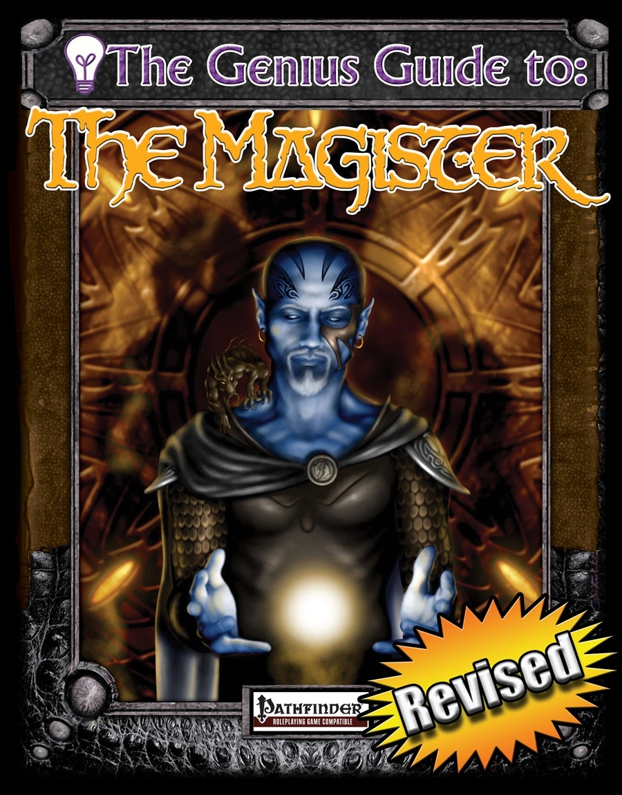 The Genius Guide to the Magister - Rogue Genius Games | New Pathfinder  Classes | DriveThruRPG com