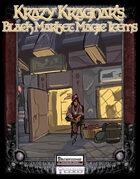 Krazy Kragnar's Black Market Magic Items