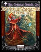 The Genius Guide to 110 Spell Variants Volume 3