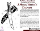 #1 With a Bullet Point: 5 Magic Witch's Daggers