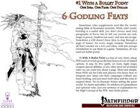 #1 With a Bullet Point: 6 Godling Feats