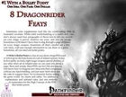 #1 With a Bullet Point: 8 Dragonrider Feats