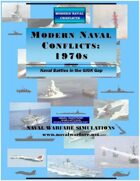 MODERN NAVAL CONFLICTS 1970s