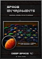 Space Environment Deep Space Hexagonal Tile Set vol1